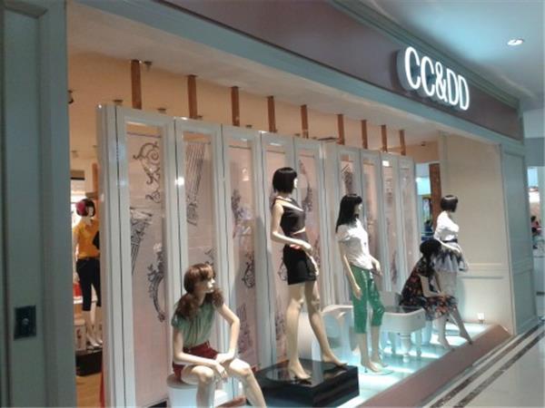 CC&DD女装店铺展示