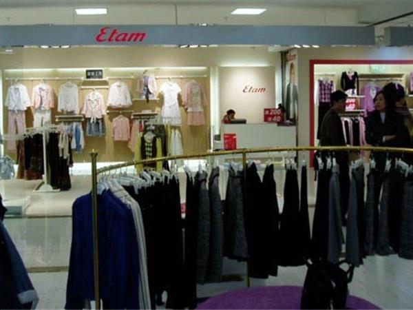 艾格女装店铺展示