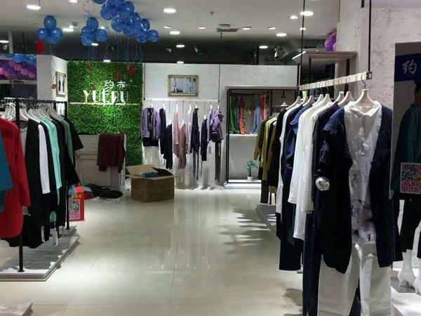 约布女装店铺展示