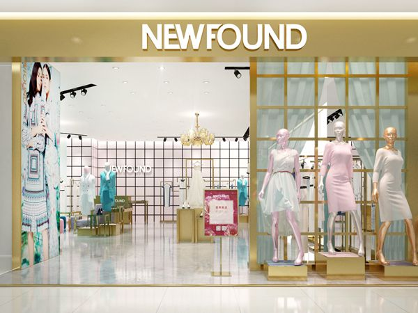 纽方女装店铺展示