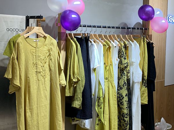 谷度女装店铺展示